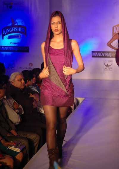 Kingfisher fashion show