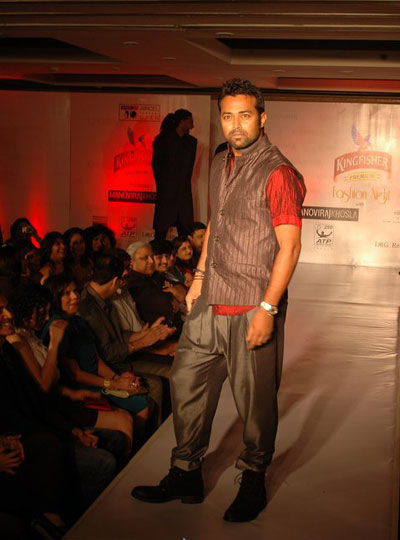 Kingfisher fashion walk
